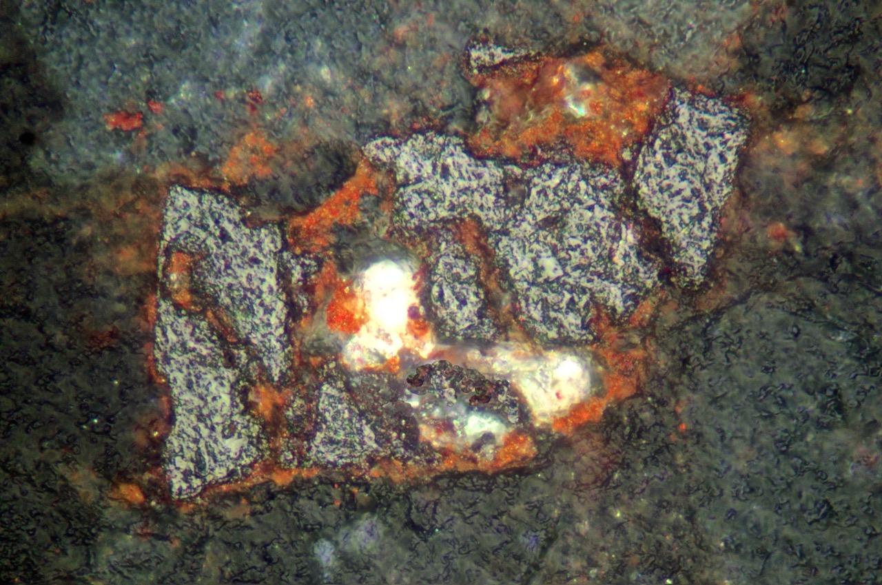Iron Titanium Oxides In Cheviot Rocks