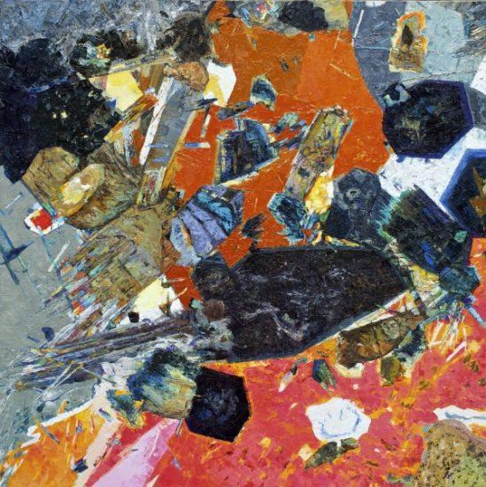 Cheviot Tourmaline 3, Oil on board 965 x 965mm