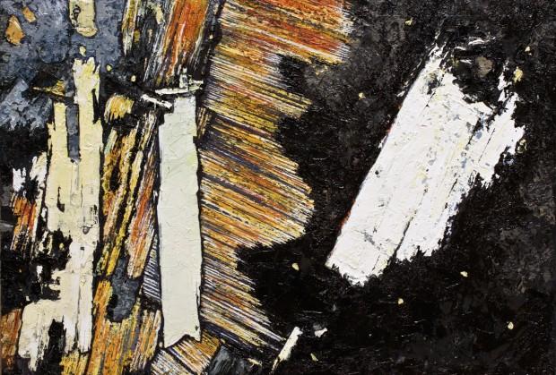 Cushat Steil, Oil on board 700 x 480mm
