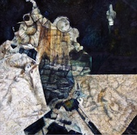 Click to link to observational paintings from mineral assemblages