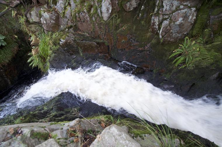Location 4 Harthope Linn Lower Falls (NT 9273 2021)