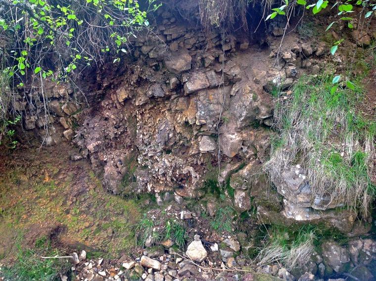 Kielderhead dyke on the Farnley Slack