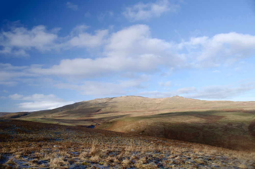 Dunmoor Hill with Cunyon Crags from Hartside Hill