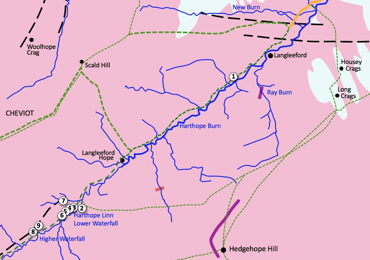 Hathope Valley Excursion Map