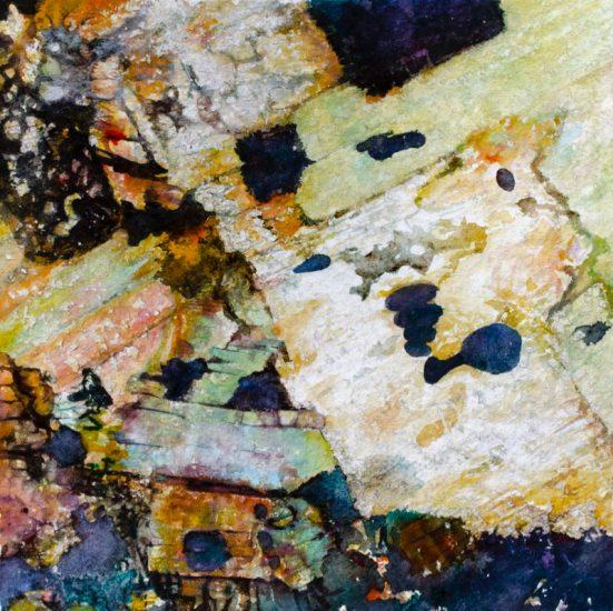 Dunmoor Granite, Watercolour 390 x 390mm