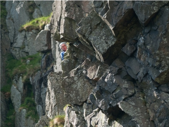 Andesite at Henhole Crags