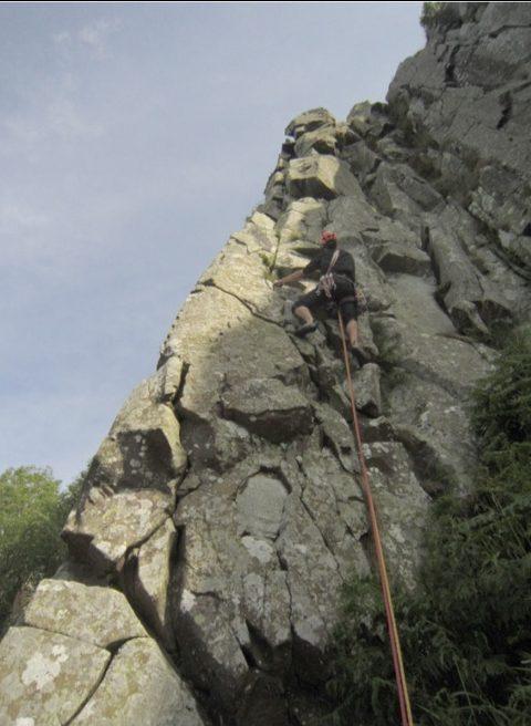 Columnar Dolerite at Peel Crag